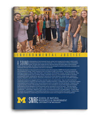 SNRE Environmental Justice brochure download
