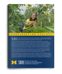 SNRE Conservation Ecology brochure download