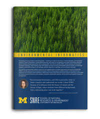 SNRE Environmental Informatics brochure download