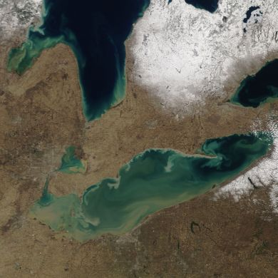 great lakes sediment