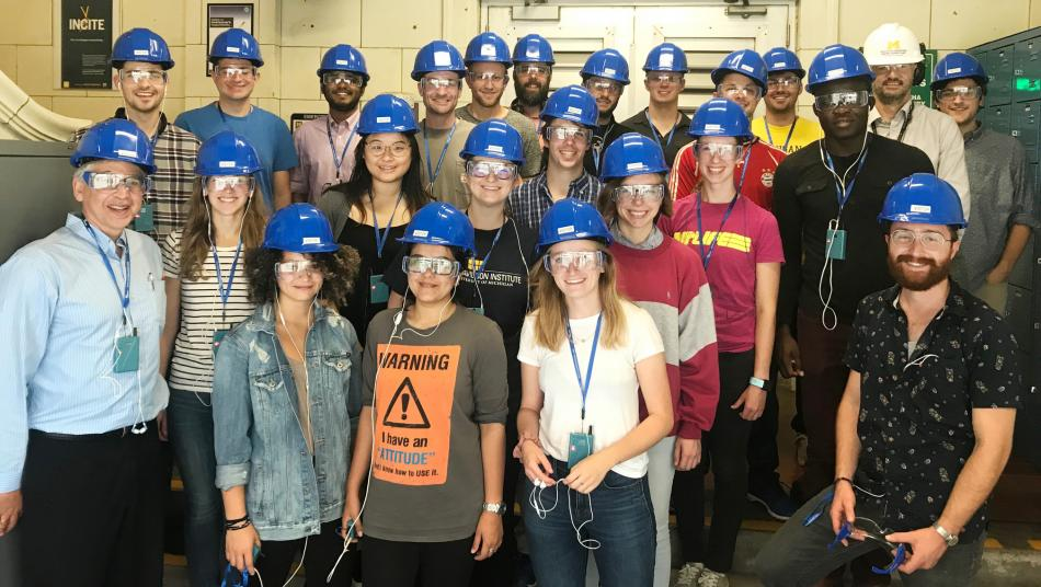 Touring the University of Michigan Power Plant